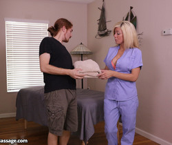 Parker Swayze: Totrured and Titillated - Mean Massage