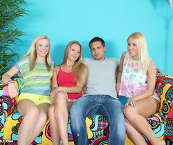 Sydney Vanessa, Sunny - Blondes Do It Better - Teen Tugs
