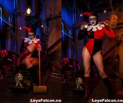 Boiler Room Fun with Whorley Quinn - Leya Falcon
