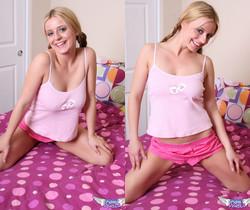 Denise - Pink Stripes - SpunkyAngels