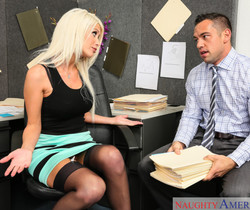 Riley Jenner - Naughty Office