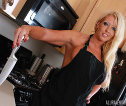 Alura Jenson in Dining In The Kitchen