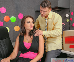 Kayla West - Naughty Office