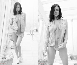 Emma Glover Black And White - Hayley's Secrets