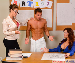 Eva Notty & Syren De Mer - My First Sex Teacher