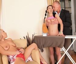 Betty Stylle, Sandy B, Bob Terminator - Perverted 3somes