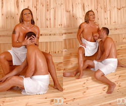 Laura Orsolya aka Laura M. - Encounter in a sauna