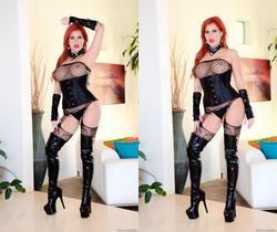 Savana Styles - Buxom MILF Redhead: Orgasmic Butt Fuck