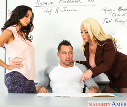 Alura Jenson & Ava Addams - My First Sex Teacher