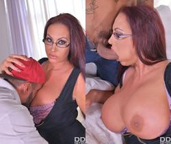 Massive Tits Jizzed On: Handyman Fucks Busty Brit's Big Boob