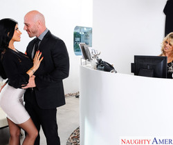 Charisma Cappelli & Romi Rain - Naughty Office