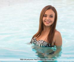 At The Pool - Li Moon - Femjoy