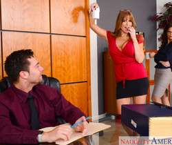 Darla Crane & Syren De Mer - Naughty Office