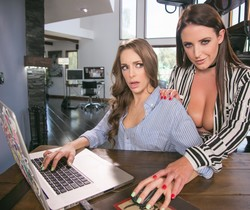 Kimmy Granger, Angela White - Girlsway Newest Editor