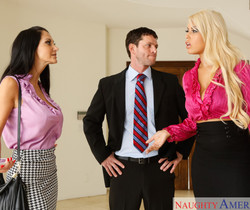 Ava Addams & Bridgette B. - Naughty Office