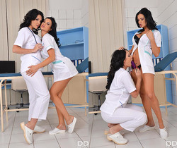 Emma Leigh, Jasmine Jae - Naughty Nurses at Play
