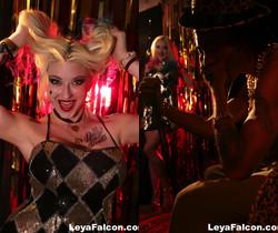 Whorley Quinn at the Strip Club with the Joker - Leya Falcon