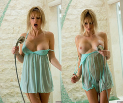 Brett Rossi Is All Wet And Ready For Action