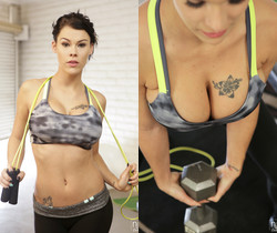 Peta Jensen, Ryan Driller - Big Boob Workout - NFBusty