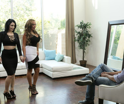 Noelle Easton, Richelle Ryan, Ryan Driller - Nice And Firm