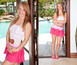 Alyssa Branch - Talented Teen - Naughty Mag