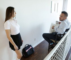 Melissa Moore - Put Some Panties On - Bad Teens Punished