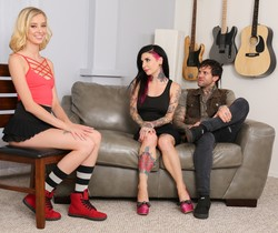 Joanna Angel, Haley Reed - Babysitter Auditions - Haley Reed