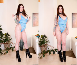 Ivy Lebelle - Busty, Thick Ivy Porked And Slimed