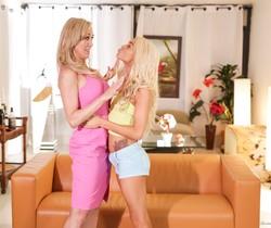 Elsa Jean, Brandi Love - Girls Kissing Girls #21