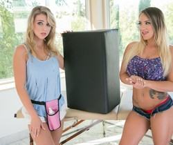 Cali Carter, Zoey Taylor - Ass Up, Bolster Out!