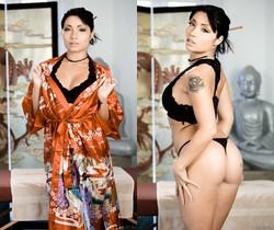 Rina Ellis - Asian Strip Mall Massage #05