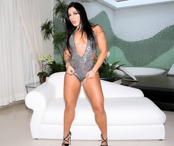 Monica Santhiago - Giant, Gaping Amazon Ass Reamed