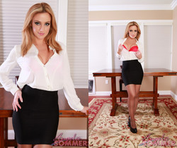 Angela Sommers - Silky Pantyhose Dream