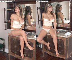 Paola Rios - Paola Trims Her Patch Of Heaven - ScoreLand