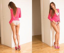 Dominika C - Pink Shoes