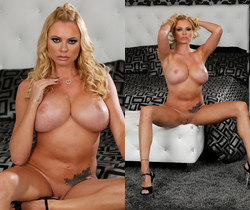 Briana Banks in Hot Bikini Strip