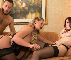 Phoenix Marie - Threesome With Erin Grey Part3