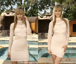 Jillian Janson - Pink Dress