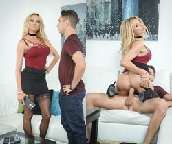 Briana Banks Makes A Fucking Deal With Brad Knight