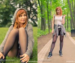 Jeny Smith - Pantyhose