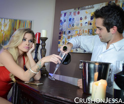 Jessa Rhodes Bangs The Bartender