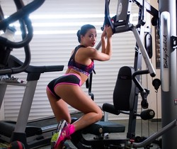 Taissia Shanti - Nude workout