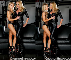 Briana Banks And Alix Lynx Dressed Up in Latex