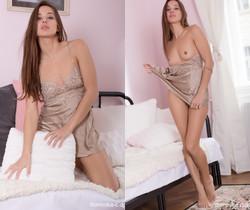 Dominika C - Gold Night Dress