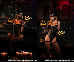 Sarah is a sexy Cat Woman - Sarah Jessie