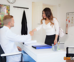 Kesha Ortega - Doctor Boobs's Office - CumLouder