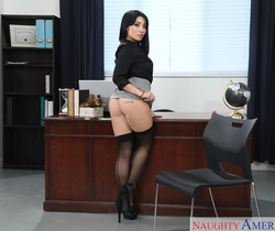 Rina Ellis - Naughty Office