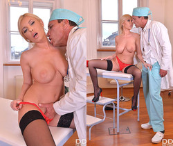 Donna Bell - Doc Bangs Patient's Big Tits
