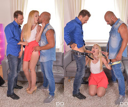 Samantha Rone - Horny Tourist Double Penetrated