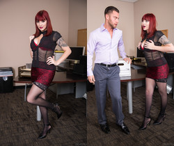 Amber Ivy - Big Tits Office Chicks #04 - Devil's Film